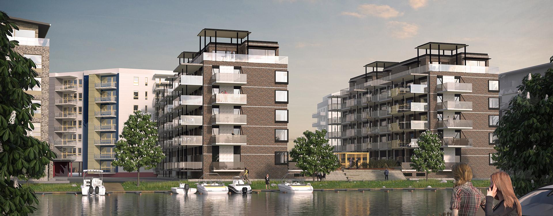 Brf Docklands vinnare<br>av arkitekturpris