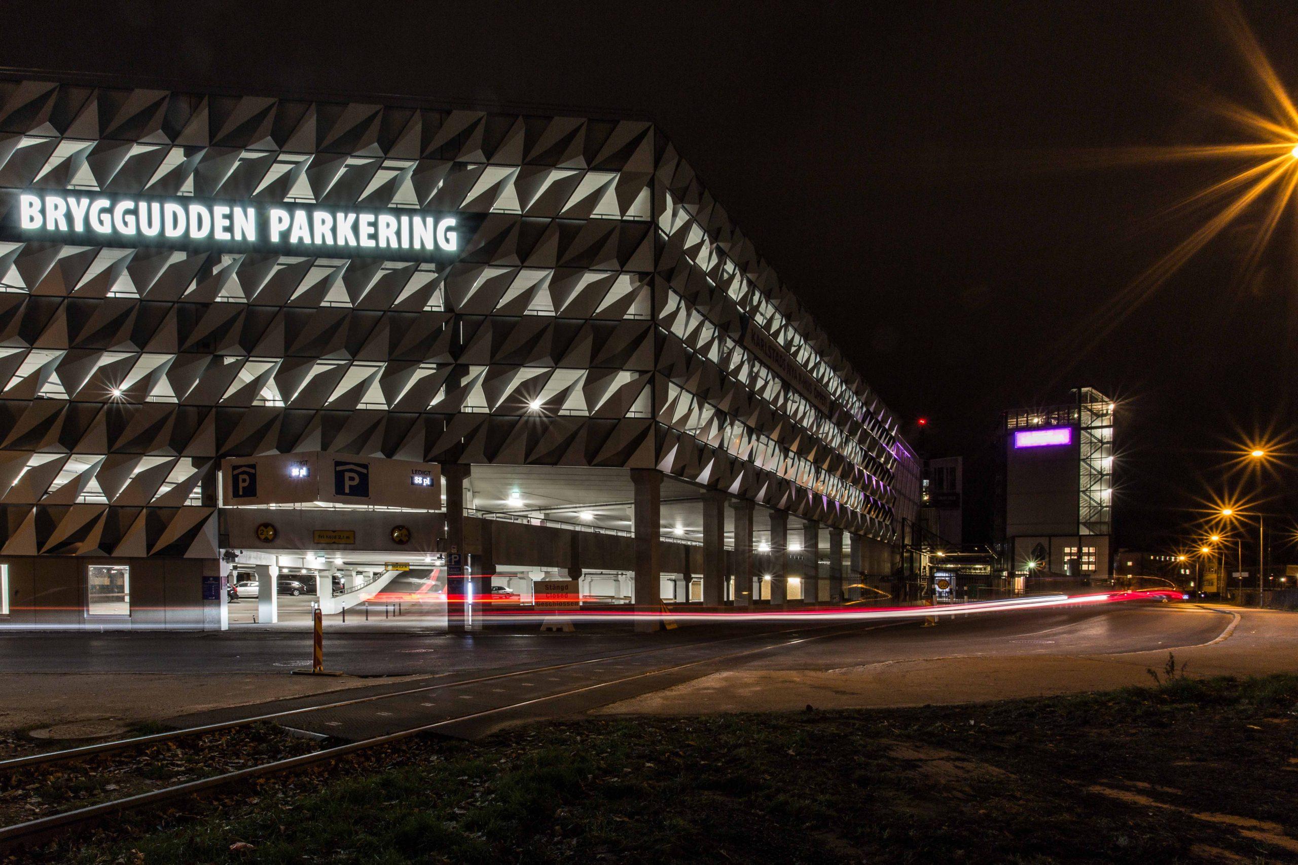 Parkeringshus Bryggudden